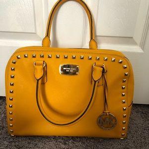 Golden Yellow Michael Kors Handbag